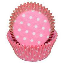 Light Pink Polka Dot Baking Cups, 500 ct.