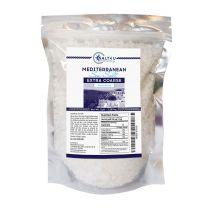 Mediterranean Sea Salt, Extra Coarse Grain 5 lb.