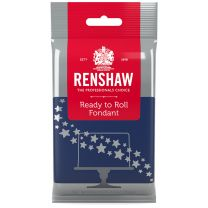 Renshaw Ready-To-Roll Fondant Icing Navy Blue 8.8 oz