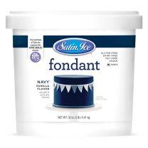 Satin Ice Fondant Navy 2#