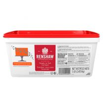 Renshaw Ready-To-Roll Fondant Icing Orange 5 lb
