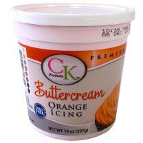 Buttercream Icing 14 oz Orange