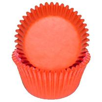 Orange Mini Baking Cups, 500 ct.