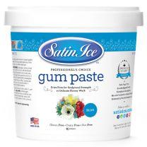 Satin Ice Gum Paste Blue 2 lb.