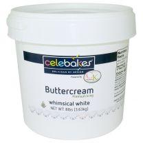 Celebakes Whimsical White Buttercream Icing, 8 lb