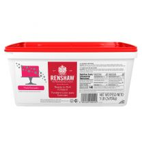 Renshaw Ready-To-Roll Fondant Icing Pink 5 lb
