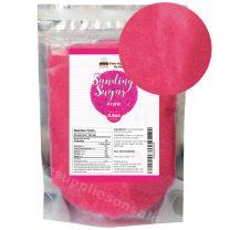 Sanding Sugar Pink 8.8 oz by Cake SOS