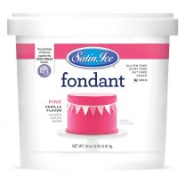 Satin Ice Fondant Pink 2#
