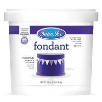 Satin Ice Fondant Purple 2#