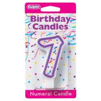 Birthday Candle Number 7
