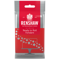 Renshaw Ready-To-Roll Fondant Icing Red 8.8 oz