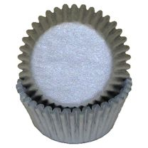 Silver Mini Baking Cups, 500 ct.