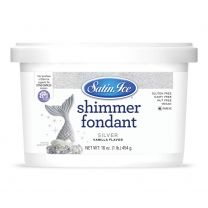 Satin Ice Silver Shimmer Fondant 1#