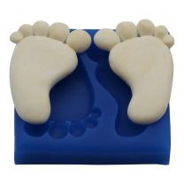 Silicone Mold - Small Baby Feet