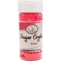 4 oz Sugar Crystals - Pink