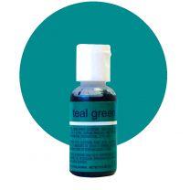 Liqua-Gel Food Color Teal Green .70 oz