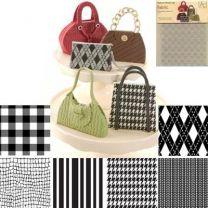 """Texture Mat - Fabric Set/6 7x10"""""""