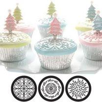 Cupcake/ckie Texture Tops - Scroll