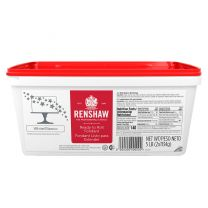 Renshaw Ready-To-Roll Fondant Icing White 5 lb