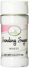 4 oz Sanding Sugar - White