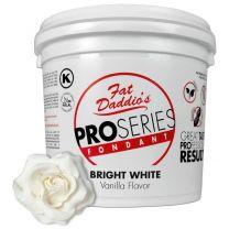 Fat Daddio's Fondant Bright White Vanilla 5 lb.