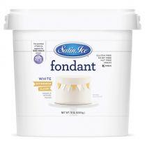 Satin Ice Fondant White Buttercream 10#