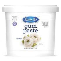 Satin Ice Gum Paste White 2 lb