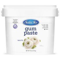 Satin Ice Gum Paste White 5 lb