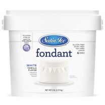 Satin Ice Fondant White 5#