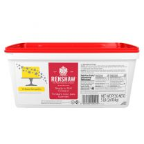 Renshaw Ready-To-Roll Fondant Icing Yellow 5 lb