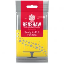 Renshaw Ready-To-Roll Fondant Icing Yellow 8.8 oz